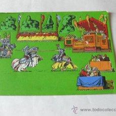 Coleccionismo Recortables: RECORTABLE TROQUELADO SEIX Y BARRAL - PANORAMAS SERIE COLOR - NUMERO 6 - TORNEO. Lote 38188977