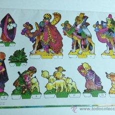 Coleccionismo Recortables: NACIMIENTO RECORTABLE - GRAFICAS LOROÑO - BILBAO - AÑO 1980 - FORMATO 68 X 48. Lote 38960119