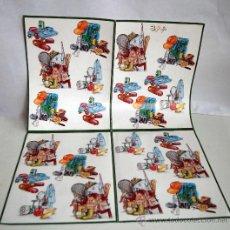 Coleccionismo Recortables: LAMINAS DECOUPAGE 3D LAMINA MOCHILA MOCHILAS MANUALIDADES. Lote 39187896