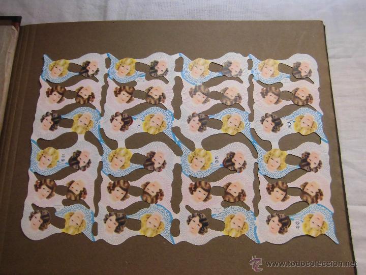 LAMINA DE CROMOS TROQUELADOS ANGELES MLP Nº 855 (Coleccionismo - Otros recortables)