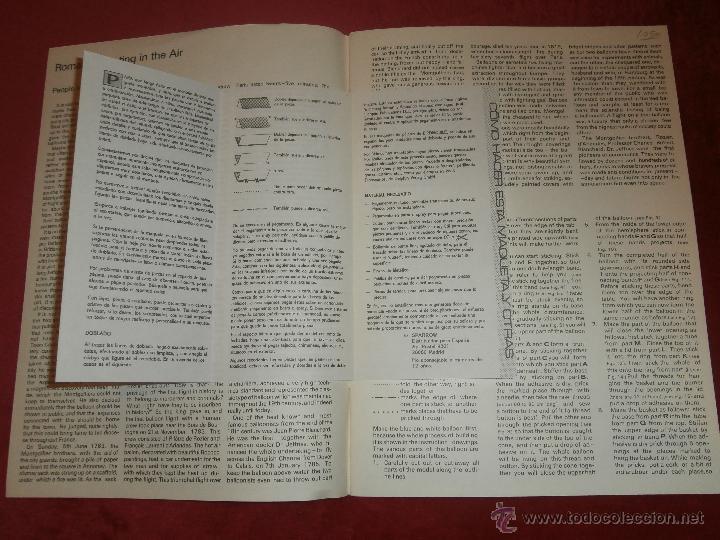 Coleccionismo Recortables: Recortable - Globos aerostáticos - Romantic Floating in the air - Jan ZBanek - Albatros 1983 - - Foto 3 - 202930500