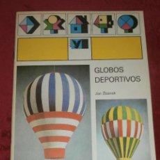 Coleccionismo Recortables: MAQUETA RECORTABLE - GLOBOS DEPORTIVOS - JAN ZBANEK - ALBATROS - 1985 - CASTELLANO -. Lote 202930531