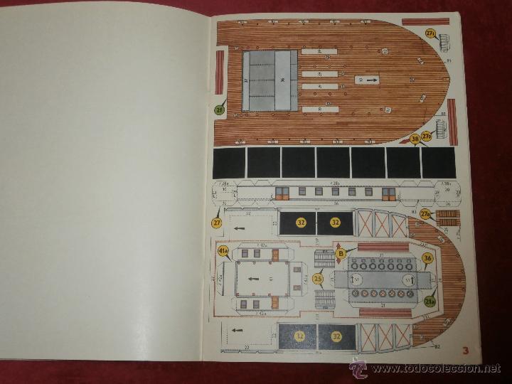 Coleccionismo Recortables: Impresionante Maqueta Recortable - El Mark Twain - Ladislav Badalec - Albatros -1987 - - Foto 5 - 43034938