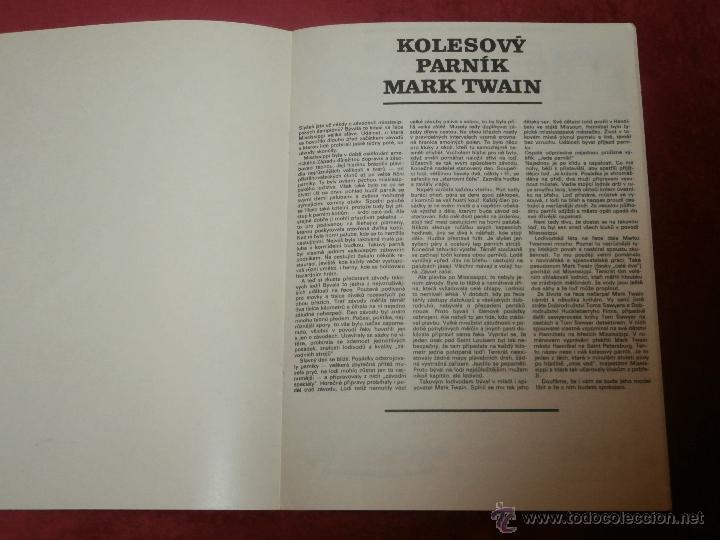 Coleccionismo Recortables: Impresionante Maqueta Recortable - El Mark Twain - Ladislav Badalec - Albatros -1987 - - Foto 7 - 43034938
