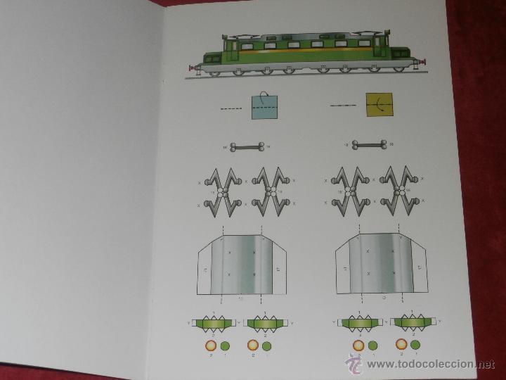 Coleccionismo Recortables: Maqueta Recortable - Locomotoras Geniales - Locked - Libro Hobby - - Foto 2 - 43035185
