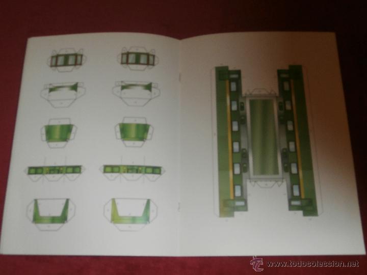 Coleccionismo Recortables: Maqueta Recortable - Locomotoras Geniales - Locked - Libro Hobby - - Foto 3 - 43035185