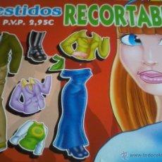 Coleccionismo Recortables: VESTIDOS RECORTABLES Nº 8. Lote 43611634