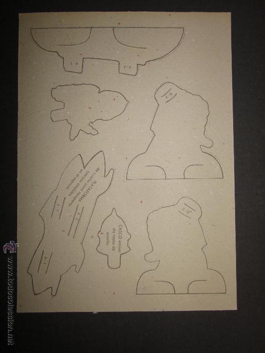 Coleccionismo Recortables: RECORTABLE NIÑOS DEL FUTURO -NUM. 2 COMPLETO - EDITORIAL ROMA - DIBUJOS JANDRO - (V-709) - Foto 4 - 43652091