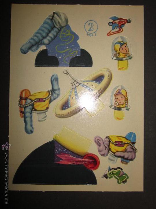 Coleccionismo Recortables: RECORTABLE NIÑOS DEL FUTURO -NUM. 2 COMPLETO - EDITORIAL ROMA - DIBUJOS JANDRO - (V-709) - Foto 7 - 43652091
