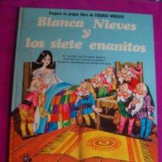 Coleccionismo Recortables: LIBRO CUENTO + RECORTABLES FHER - BLANCA NIEVES Y LOS 7 ENANITOS - 1974 - SIN USAR DE LIBRERIA. Lote 43755573