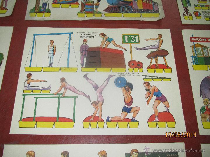 Coleccionismo Recortables: Colección Completa 9 Hojas Recortables KIKI LOLO *ESCENAS INFANTILES* Edit.ROMA Barcelona - Año 1970 - Foto 7 - 43758099