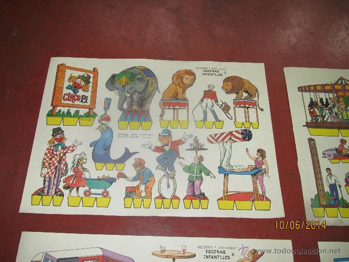 Coleccionismo Recortables: Colección Completa 9 Hojas Recortables KIKI LOLO *ESCENAS INFANTILES* Edit.ROMA Barcelona - Año 1970 - Foto 10 - 43758099