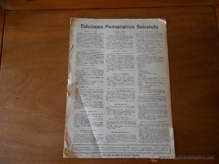 Coleccionismo Recortables: ANTIGUO RECORTABLE: COLONIZACIÓN FENICIA (CUADROS HISTÓRICOS) EDICIONES SALVATELLA - Foto 3 - 43824216