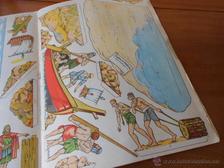 Coleccionismo Recortables: ANTIGUO RECORTABLE: COLONIZACIÓN FENICIA (CUADROS HISTÓRICOS) EDICIONES SALVATELLA - Foto 6 - 43824216