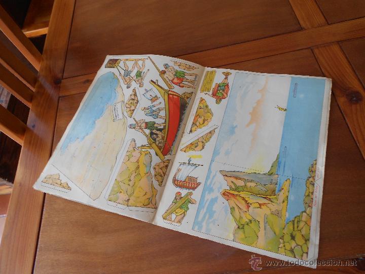 Coleccionismo Recortables: ANTIGUO RECORTABLE: COLONIZACIÓN FENICIA (CUADROS HISTÓRICOS) EDICIONES SALVATELLA - Foto 10 - 43824216
