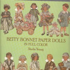 Coleccionismo Recortables: BETTY BONNET PAPER DOLLS. Lote 43849293