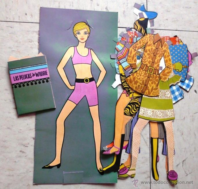 Vintage Y Bonitas Muñecas Para Vestir Años 60s