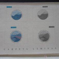 Coleccionismo Recortables: LAMINAS PARA LA MAQUETA DEL BOSQUE. CARPETA LAMINAS. AÑOS 80. PARA RECORTAR. 460 GRAMOS.. Lote 44635525