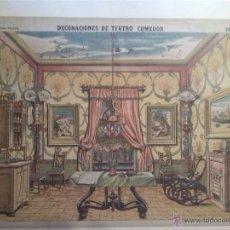Coleccionismo Recortables: DECARADOS TEATRALES PALUZIE RECORTABLE. Lote 44883534