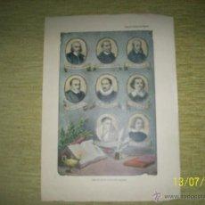 Coleccionismo Recortables: 14 IMAGENES DEL LIBRO HISTORIA GENERAL DE ESPAÑA,DICCIONARIO POPULAR ILUSTRADO VOZ SUPLICIO.. Lote 45134410