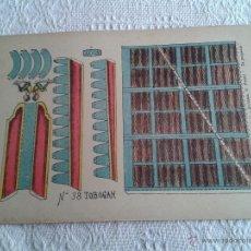Coleccionismo Recortables: RECORTABLE ANTIGUO TOBOGAN Nº 38 SUCESORES DE HERNANDO, MADRID. DE LOS AÑOS 50 O ANTES..... Lote 46324732