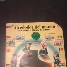 Coleccionismo Recortables: ALREDEDOR DEL MUNDO. Lote 46413140