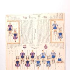 Coleccionismo Recortables: RECORTABLE FUTBOL DE MESA JUGUETES MERINO. Lote 47987318