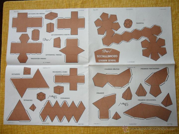 Coleccionismo Recortables: TRABAJOS MANUALES GEOMETRICOS MAVES. ESPECTACULAR LOTE DE 25 LOTES CONTENIENDO 8 LAMINAS SURTIDAS CO - Foto 2 - 48663000
