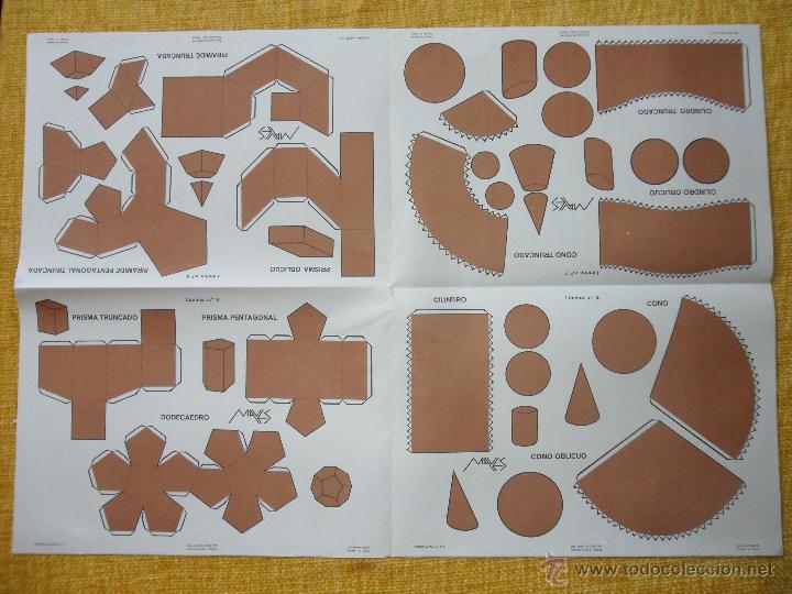 Coleccionismo Recortables: TRABAJOS MANUALES GEOMETRICOS MAVES. ESPECTACULAR LOTE DE 25 LOTES CONTENIENDO 8 LAMINAS SURTIDAS CO - Foto 3 - 48663000