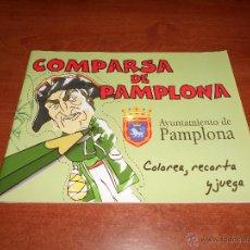 Coleccionismo Recortables: RECORTABLES; COMPARSE DE PAMPLONA 30 X 23 CM SIN ESTRENAR. Lote 49445120