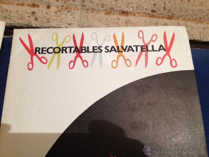 Coleccionismo Recortables: RECORTABLE GIGANTE SALVATELLA AÑO 71 - Foto 2 - 49481569