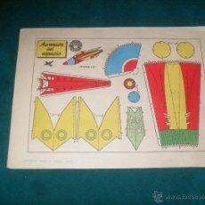 Coleccionismo Recortables: AERONAVE DEL ESPACIO, DEL. LEGAL 1959. Lote 49617659