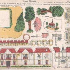 Coleccionismo Recortables: RECORTABLE. HOTEL MIRAMAR. SERIE 10. Nº 112. EDICIONES LA TIJERA. Lote 50020137