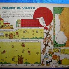 Coleccionismo Recortables: RECORTABLE DEL TBO. MOLINO DE VIENTO. APROXIMADAMENTE AÑOS 1940/50.. Lote 50325344