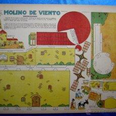 Coleccionismo Recortables: RECORTABLE DEL TBO. MOLINO DE VIENTO. APROXIMADAMENTE AÑOS 1940/50.. Lote 50325354