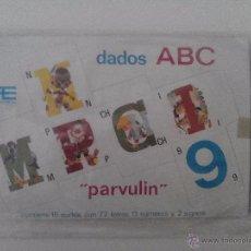 Coleccionismo Recortables: DADOS ABC PARVULIN, EDITOR ARNALOT,1968 , CONTIENE 15 DADOS. Lote 50518781