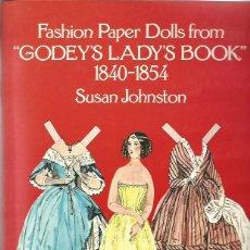 Coleccionismo Recortables: RECORTABLE MODA VICTORIANA SUSAN JOHNSTON. Lote 52139001