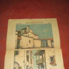 Coleccionismo Recortables: ANTIGUO RECORTABLE DECORACIONES DE TEATRO Nº 6 POSADA Y BASTIDORES DE SUCESORES DE HERNANDO. Lote 52578222