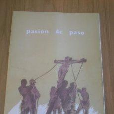 Coleccionismo Recortables: RECORTABLE SEMANA SANTA DE VALLADOLID. PASION DE PASO. AÑO 1993.. Lote 52728873