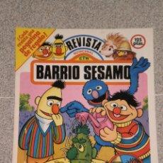 Coleccionismo Recortables: REVISTA BARRIO SESAMO , EDIT. PARRAMÓN . RECORTABLES Y PASATIEMPOS . NUMERO 3 DEL AÑO 1985 .. Lote 52972381