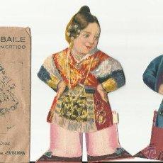 Coleccionismo Recortables: SALMANTINOS - PAREJAS DE BAILE - DOS SOBRES - BARSAL. Lote 53559231