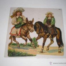 Coleccionismo Recortables: RECORTABLES TROQUELADOS INGLESES. Lote 54383459
