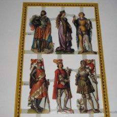 Coleccionismo Recortables: RECORTABLES TROQUELADOS INGLESES. Lote 54383525