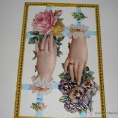 Coleccionismo Recortables: RECORTABLES TROQUELADOS INGLESES. Lote 54383559
