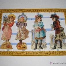 Coleccionismo Recortables: RECORTABLES TROQUELADOS INGLESES. Lote 54383585