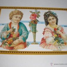 Coleccionismo Recortables: RECORTABLES TROQUELADOS INGLESES. Lote 54383645