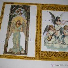 Coleccionismo Recortables: RECORTABLES TROQUELADOS INGLESES. Lote 54383725