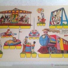 Coleccionismo Recortables: KIKI -LOLO , ESCENAS INFANTILES. Lote 222544061