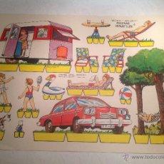 Coleccionismo Recortables: RECORTABLE , ESCENAS INFANTILES Nº 6. Lote 222543766