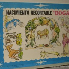 NACIMIENTO RECORTABLE BOGA COMPLETO AÑO 1968 OFERTA